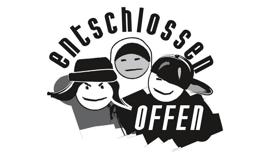 Logo - entschlossen offen