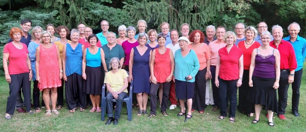 Gruppenbild vom Chor