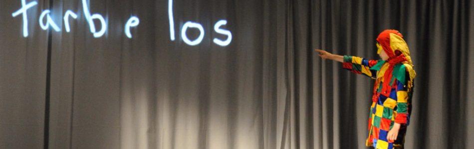 Schwarzlicht-Theater + Zirkustheaterstück 2009