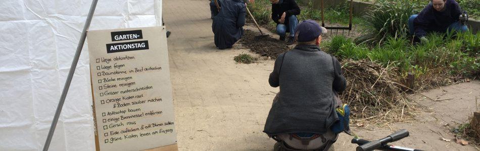 Bild von einem Aktionstag im MOTTE-Garten
